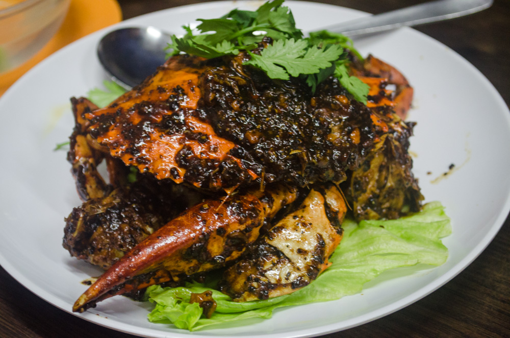 fleurdelilah foods in singapore black pepper crab